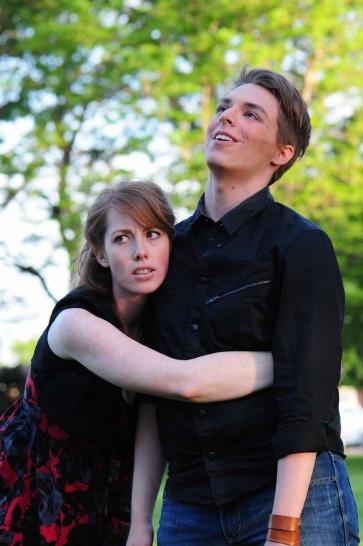 Hermia in Midsummer; Utah Shakespeare in the Park